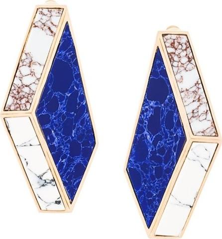 Eshvi Nino Eliava x Eshvi 'Lava' clip-on earrings
