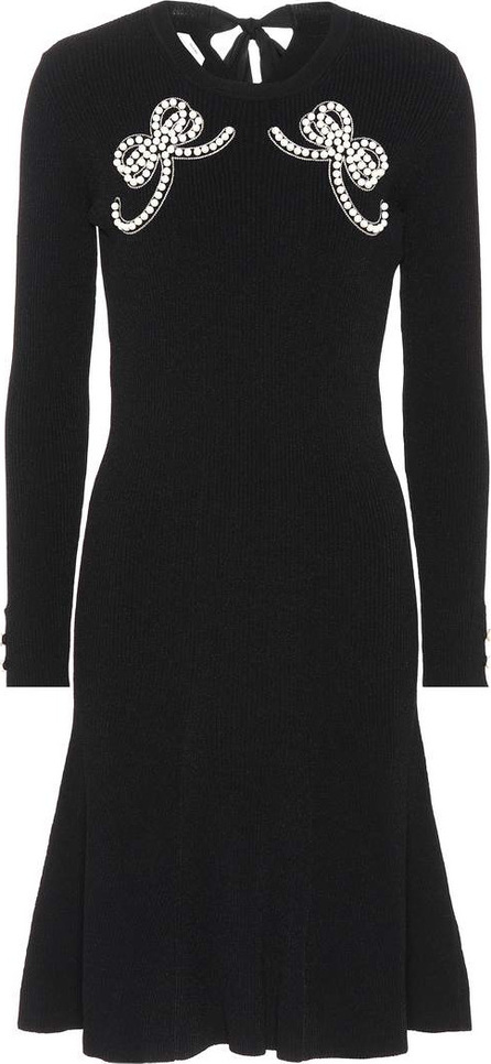 Fendi Embellished knit dress