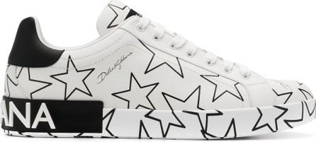 Dolce & Gabbana Star print Portofino sneakers