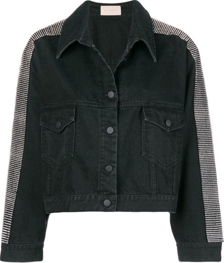 ab338ba5df5 Christopher Kane Chainmail-trim double-breasted tuxedo jacket - Mkt