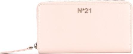 Nº21 plaque zip around wallet