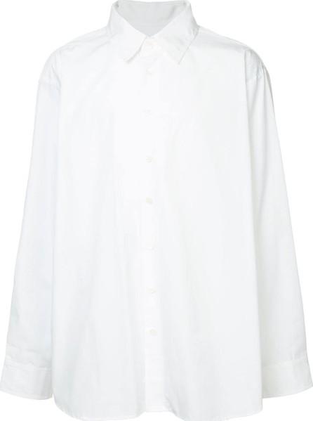Hed Mayner Oversized plain shirt
