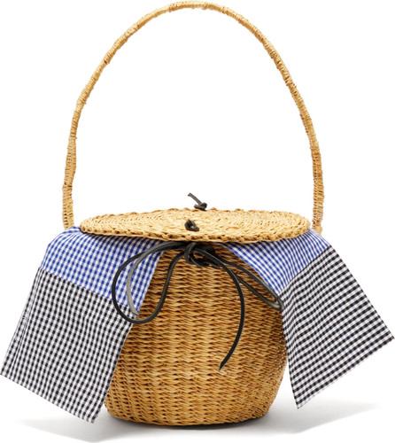 Muun Lou woven-straw basket bag