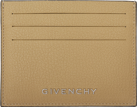 Givenchy Beige Bicolor Pandora Card Holder