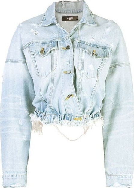 Amiri cropped denim jacket