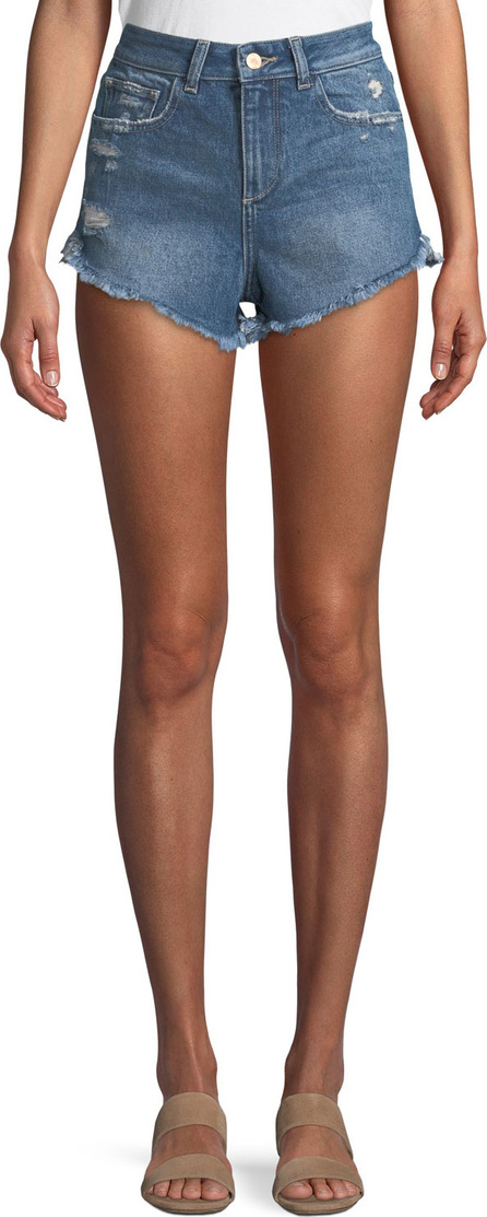 DL1961 Cleo High-Rise Cutoff Shorts