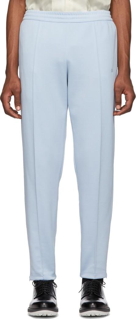 Helmut Lang Blue Stirrup Track Pants