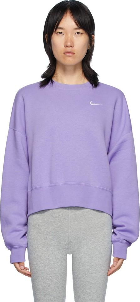 Nike Purple Sportswear Essentials Sweatshirt