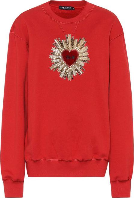 Dolce & Gabbana Embellished cotton sweatshirt
