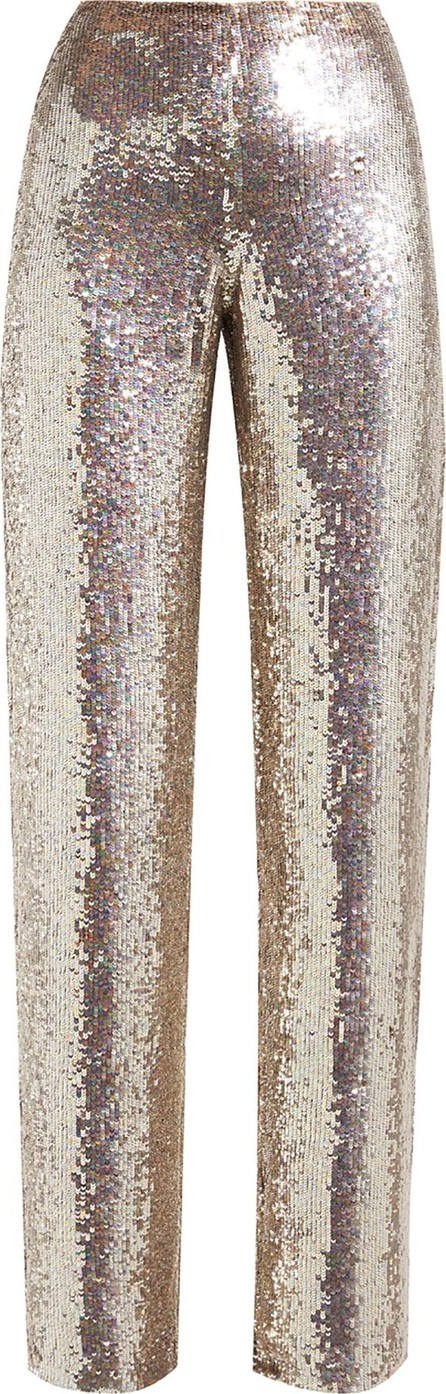 ASHISH Sequin wide-leg trousers
