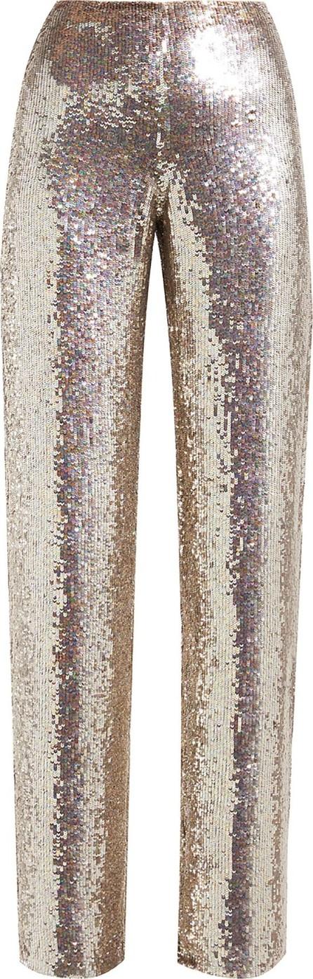 ASHISH Sequin wide-leg trousers