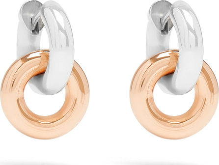 Spinelli Kilcollin Janus silver & rose-gold earrings