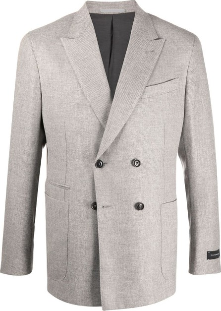 Ermenegildo Zegna Double breasted peak-lapel blazer