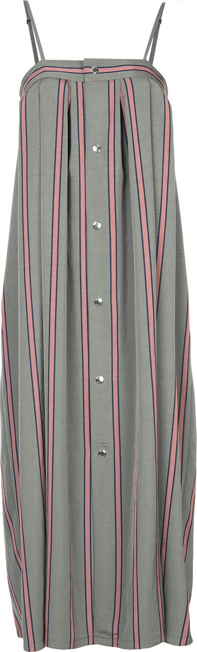 Astraet Striped oversized cami dress