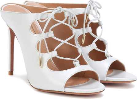 Aquazzura Flirt leather sandals