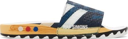 Adidas By Raf Simons adidas x Raf Simons LA Adilette Slides