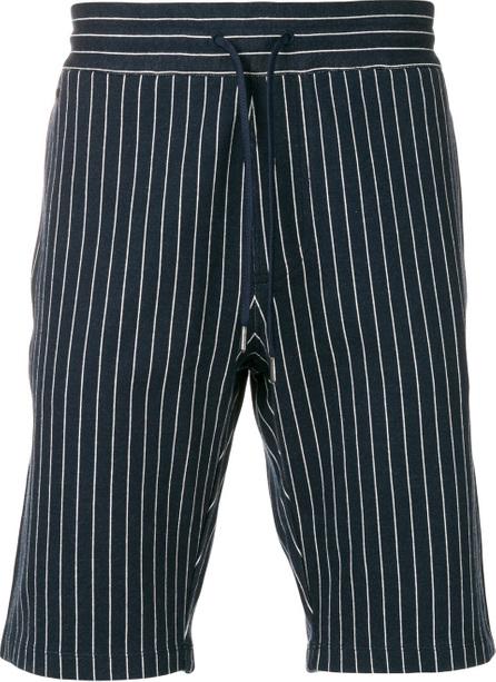 Calvin Klein 205W39NYC Pinstripe jacquard shorts
