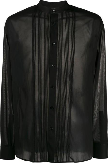 Saint Laurent Sheer panelled shirt