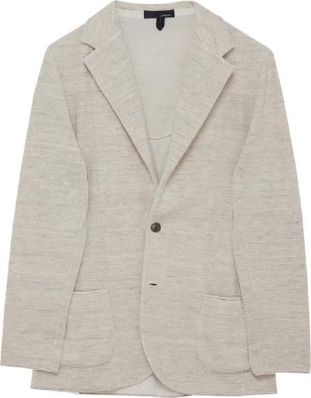 Lardini Notch lapel knit jacket