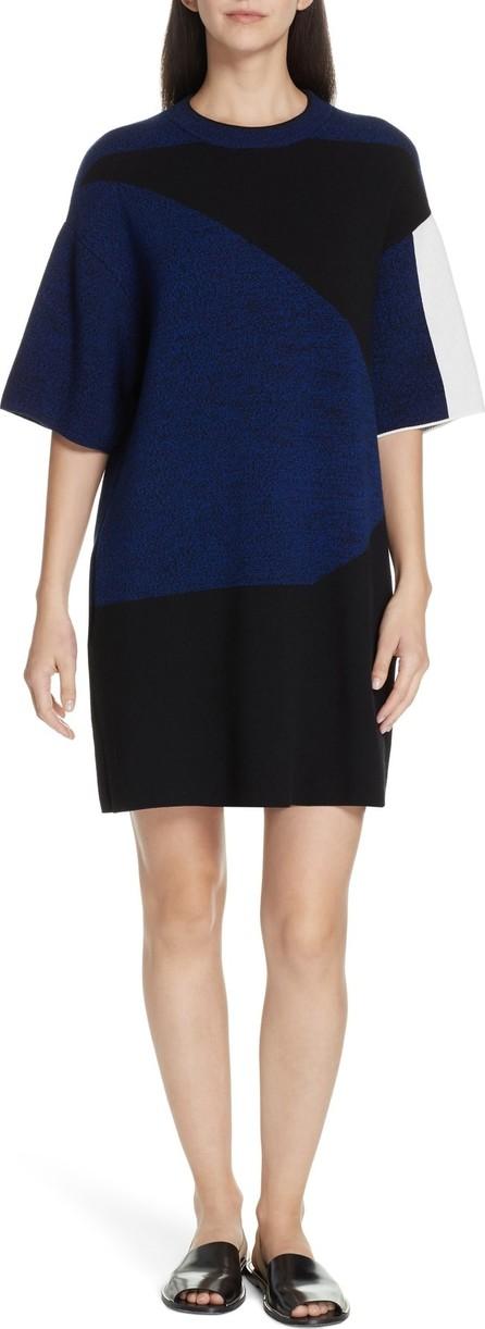 Proenza Schouler PSWL Colorblock Jacquard Shift Dress