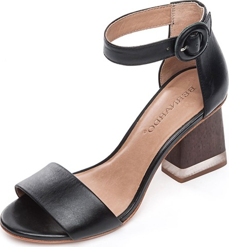 Bernardo Nova Leather Chunky Sandals