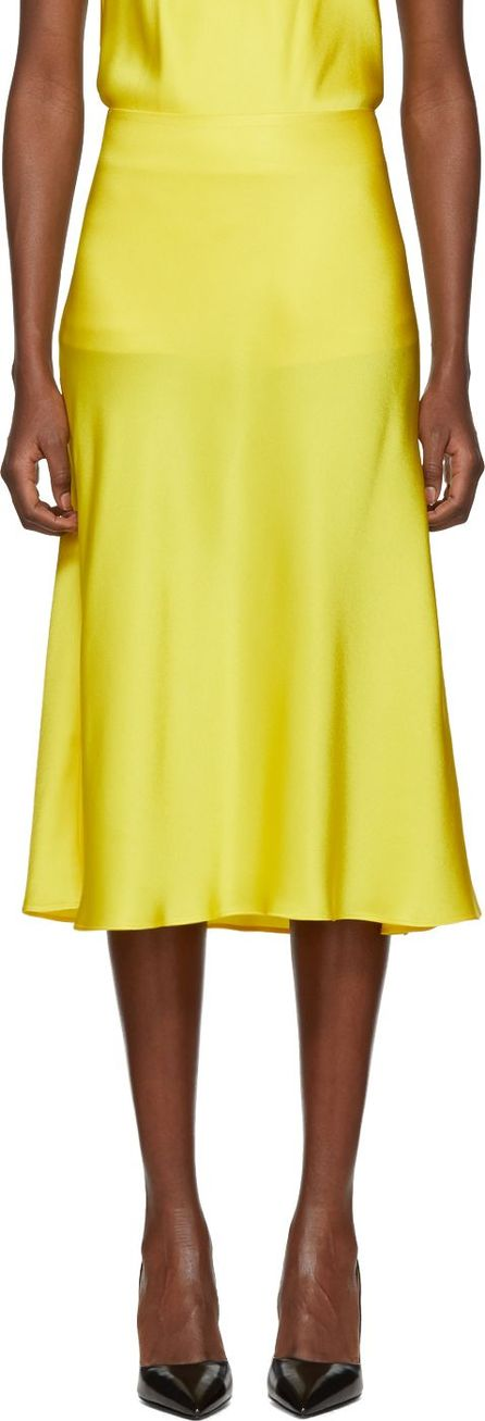 Protagonist Yellow Flare Skirt