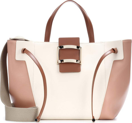 Roger Vivier Viv leather tote