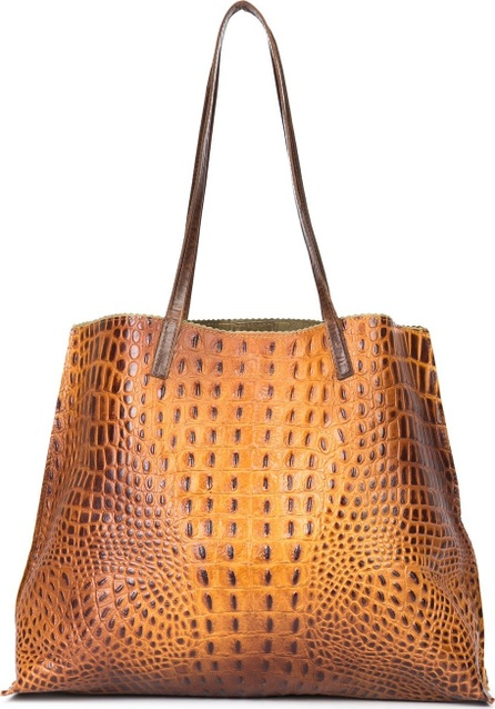 B May classic embossed shopping bag
