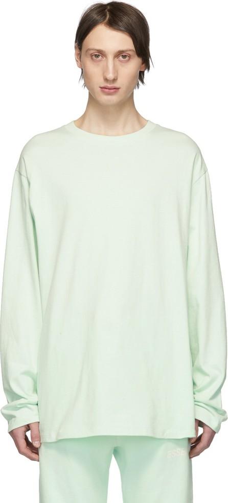 Essentials SSENSE Exclusive Green Boxy Long Sleeve T-Shirt