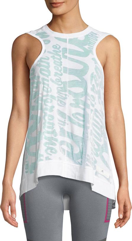 Adidas By Stella McCartney Essentials Draped Graphic Performance Tank
