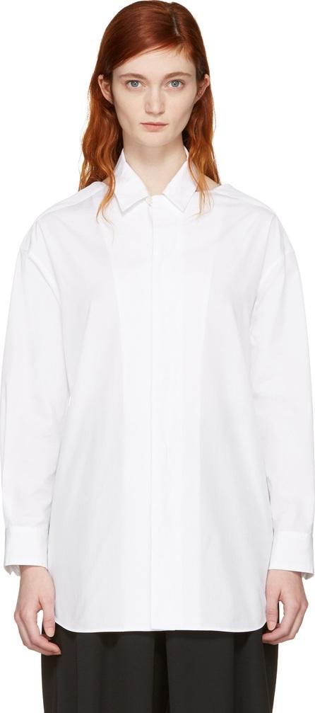 FACETASM SSENSE Exclusive White Slit Shirt