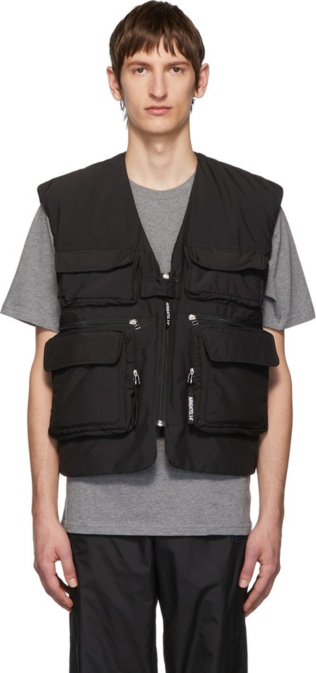 Axel Arigato Black Kent Multi Tactical Vest