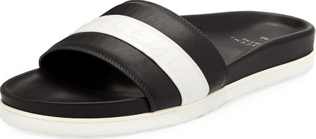 Buscemi Men's Logo Sport Slide Sandals