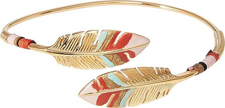 GAS Bijoux 24kt Gold Plated Duality Penna Bracelet