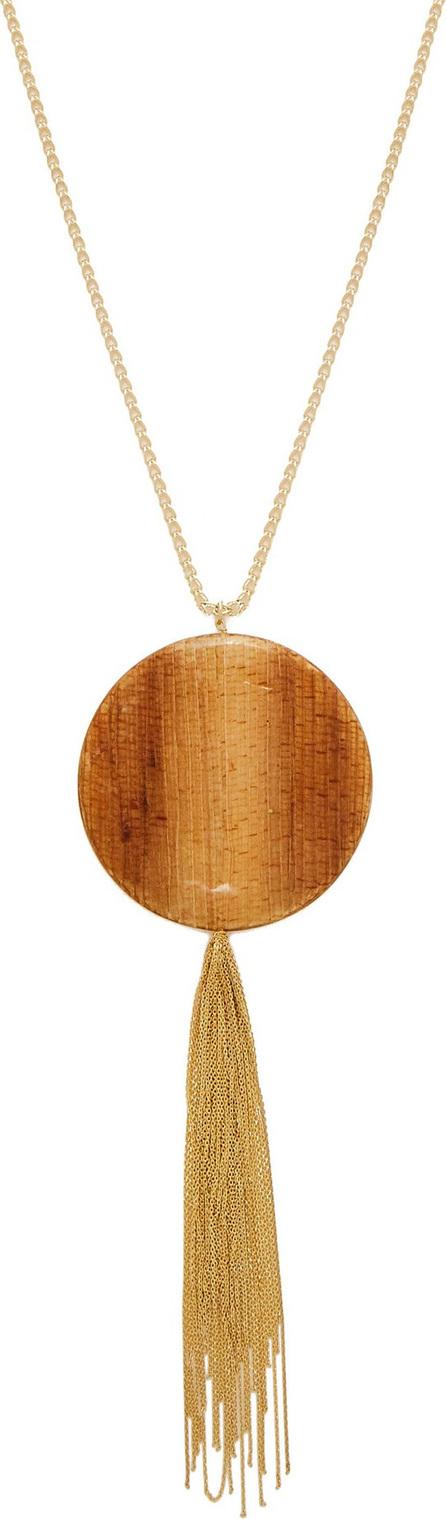 Rosantica Bamboo pendant tasselled necklace