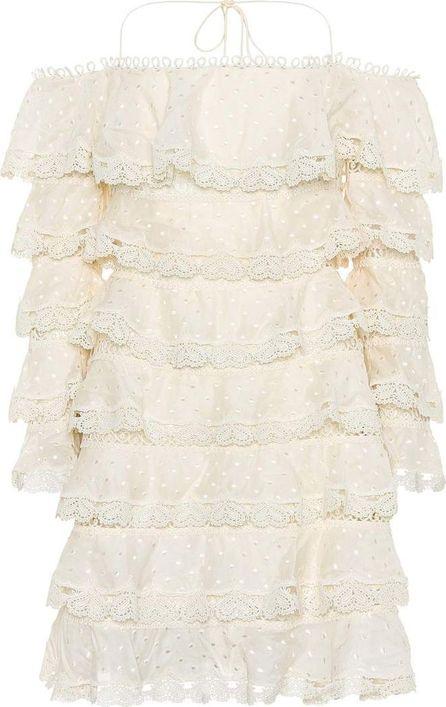Zimmermann Painted Heart cotton and silk dress