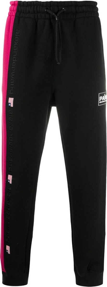 Alexander Wang Colour-block track pants