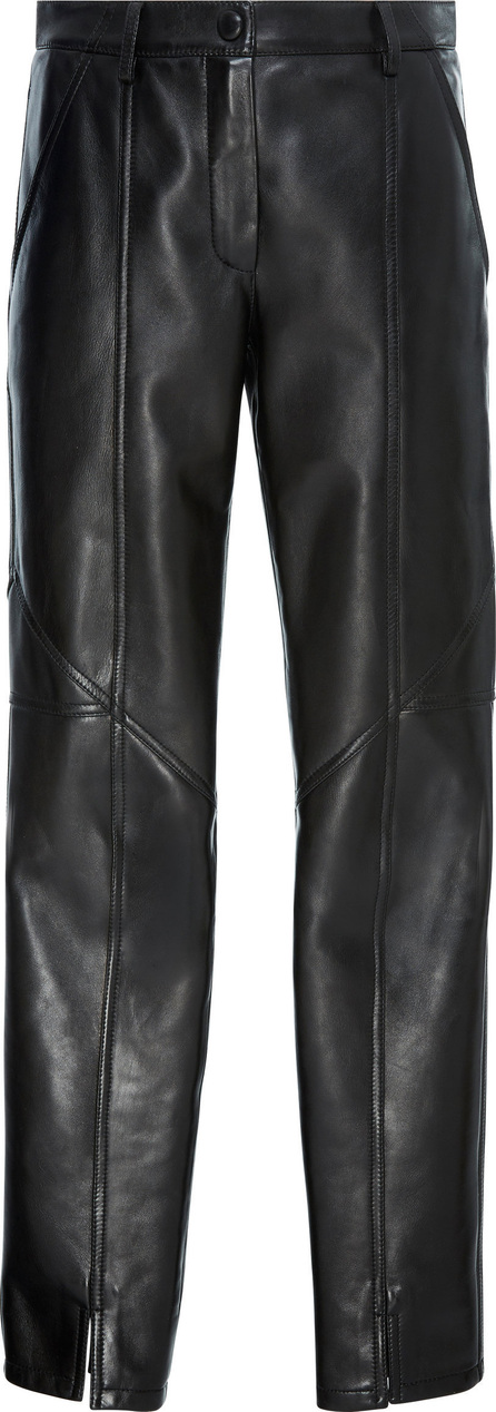Givenchy Leather Straight-Leg Pants
