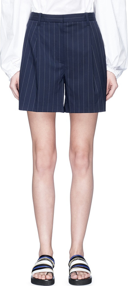 3.1 Phillip Lim Pinstripe virgin wool shorts