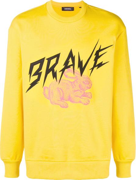 Diesel Brave bunny sweatshirt
