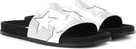 Stella McCartney Faux leather star slides