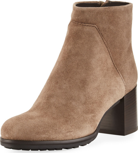 Aquatalia Everett Suede Block-Heel Boot