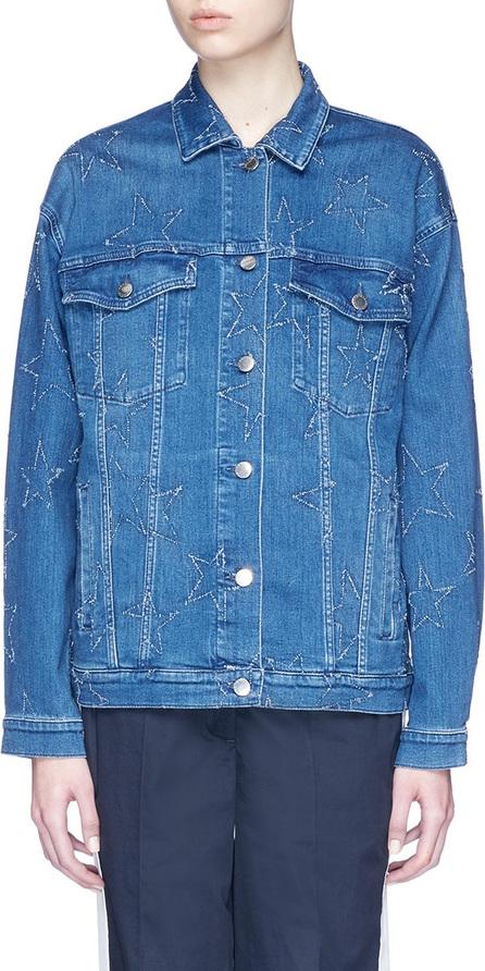 Stella McCartney Star stitch denim jacket