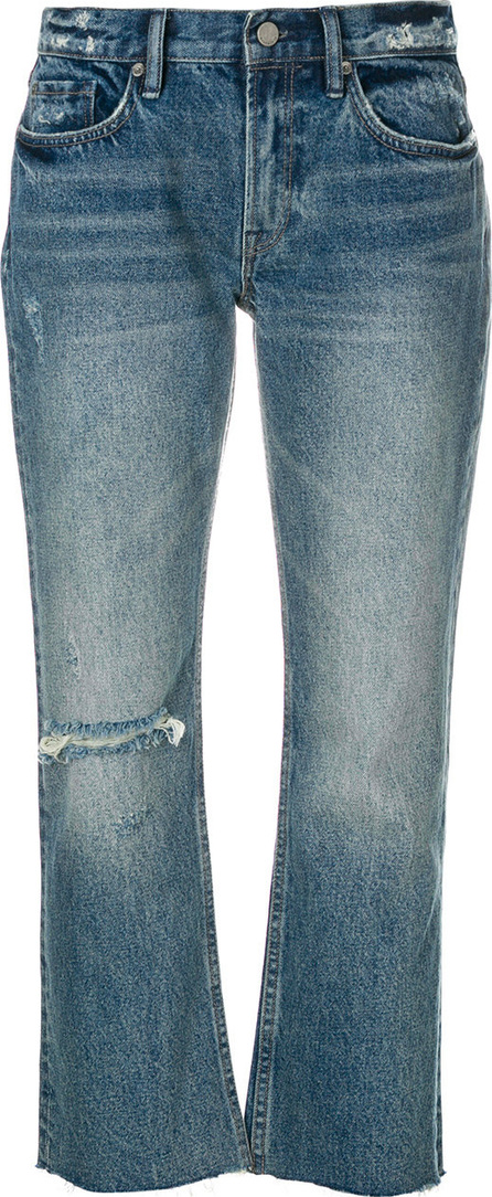 All Saints Cropped flared jeans