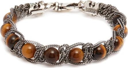 Emanuele Bicocchi Bead chain silver bracelet