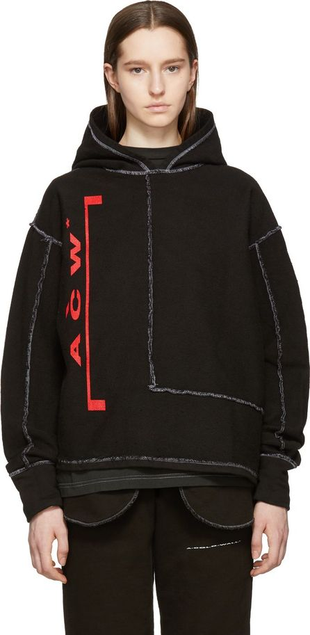 A-Cold-Wall* Black Re-Aligned Hoodie