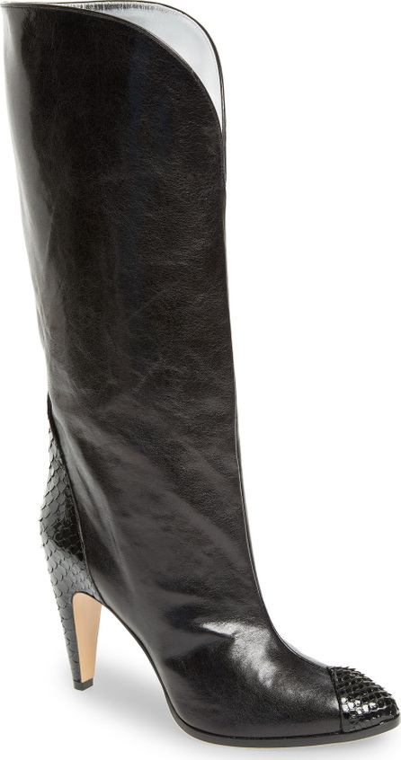 Givenchy Kangaroo Leather & Genuine Python Boot