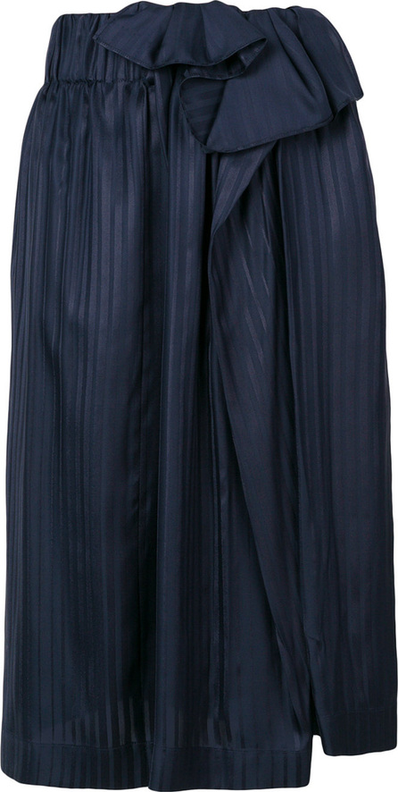 Stella McCartney Asymmetric pleated skirt