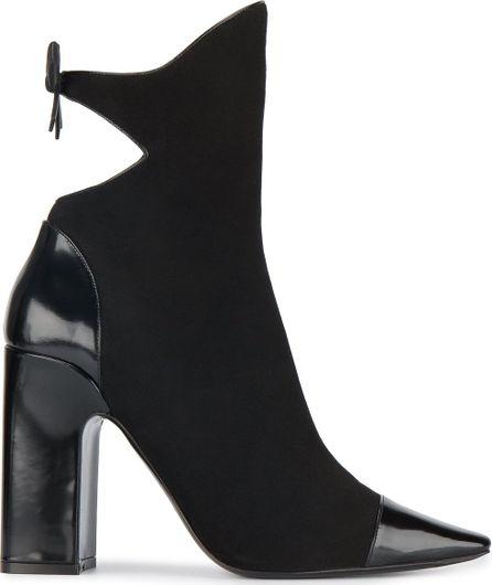 Fabrizio Viti bow embellished point toe boots