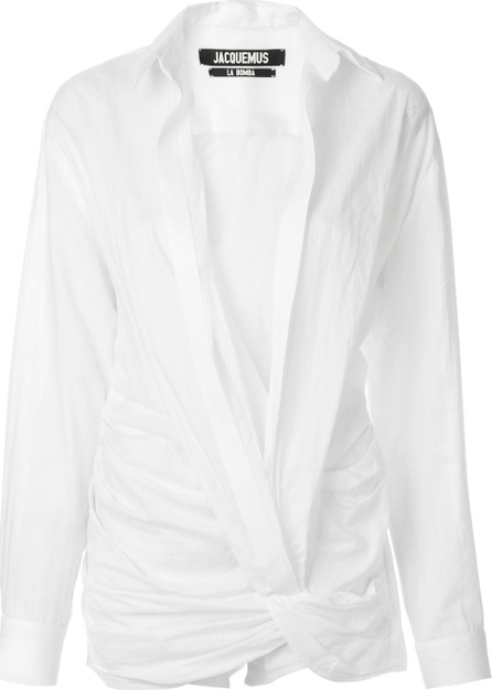 Jacquemus Fitted shirt playsuit